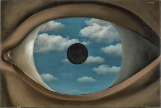 Photo: René Magritte (Belgium, 1898-1967). Le faux miroir (The False Mirror). 1929. Oil on canvas. 21 1/4 x 31 7/8″ (54 x 80.9 cm). The Museum of Modern Art, New York. Purchase. © Charly Herscovici -– ADAGP – ARS, 2013