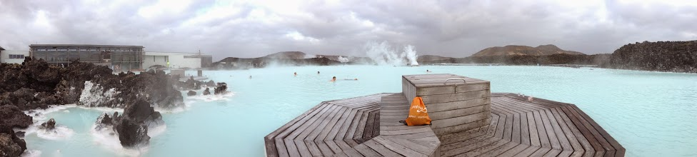 Photo: Relaxing at the Blue Lagoon