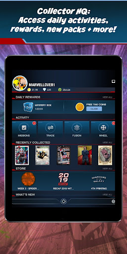 MARVEL Collect! by Toppsu00ae Card Trader 12.4.0 screenshots 12