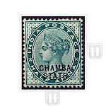 Explore British India Convention State Stamps in detail