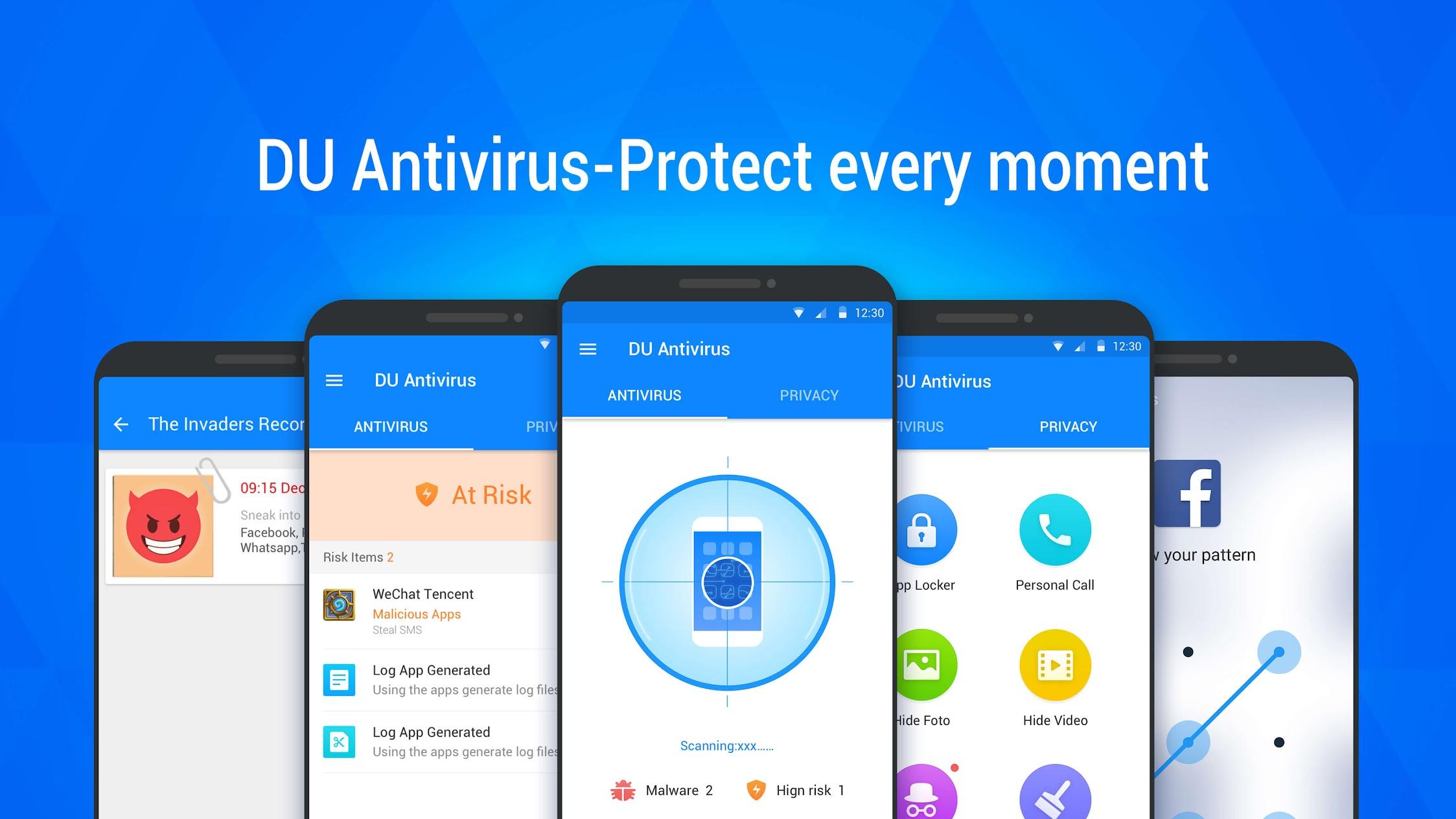 DU Antivirus - Mobile Securitys & AppLock