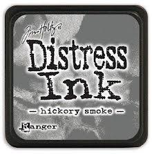 Tim Holtz Distress Mini Ink Pad - Hickory Smoke