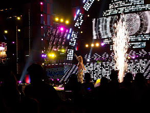 Photo: T-Ara performing 'Roly Poly' with an explosive finish, so awesome!