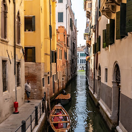 Canals of Venice by Hariharan Venkatakrishnan - City,  Street & Park  Vistas