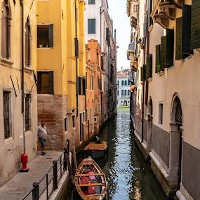 Canals of Venice by Hariharan Venkatakrishnan - City,  Street & Park  Vistas