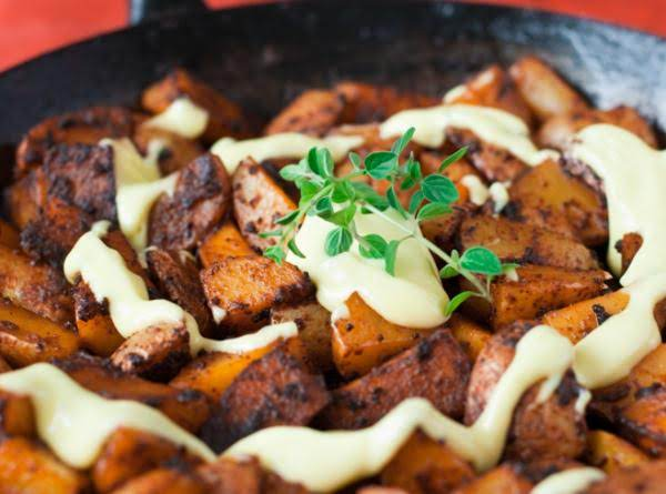 Patatas Bravas With Tarragon Lime Aioli Recipe
