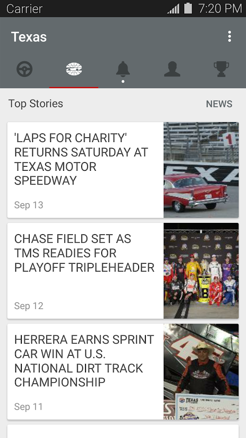 Texas motor speedway android apps on google play for Texas motor speedway events