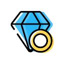 Black Diamonds, Sector 14, Faridabad logo