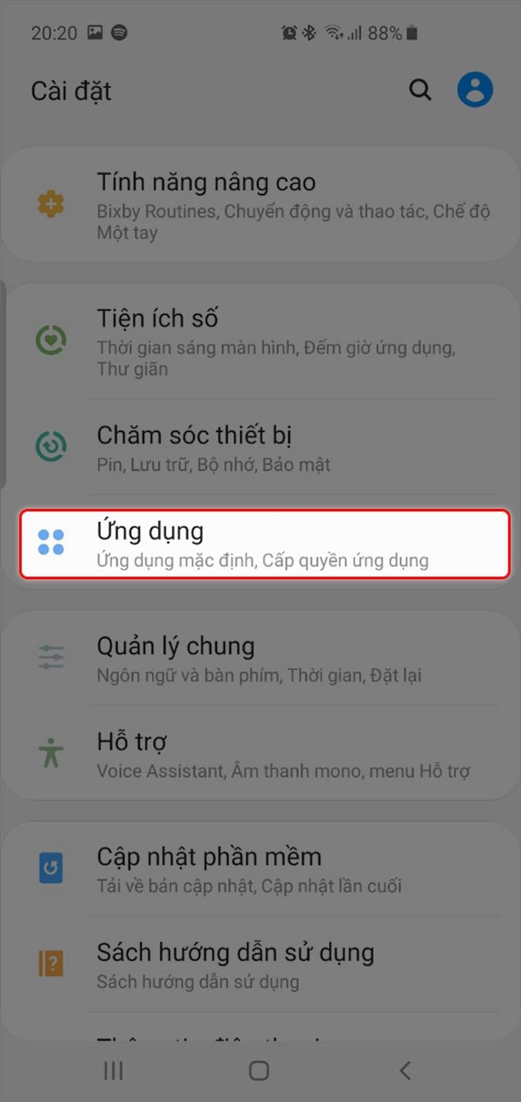 Khắc phục nhanh chóng Galaxy S10 không nhận tin nhắn và thông báo