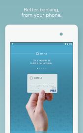 Simple - Better Banking Screenshot 1