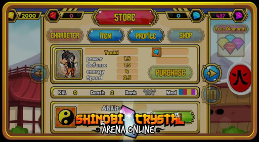 Shinobi Crystal - Arena Online