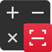 Math Calculator - Solve Math Problems by Camera Icon