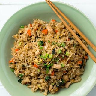 Ming Tsai's Sweet Potato-Ginger Fried Rice.