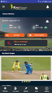 Cricket Live Line -Cricflame - náhled
