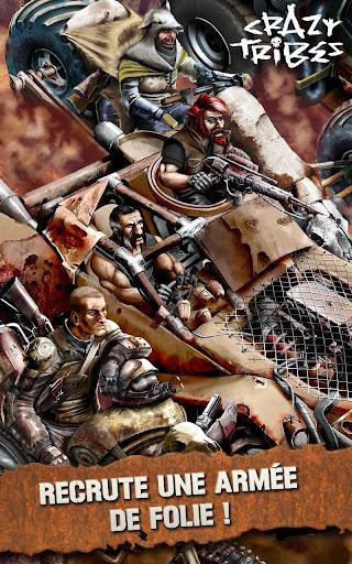 Code Triche Crazy Tribes - MMO de stratu00e9gie apocalyptique APK MOD screenshots 5