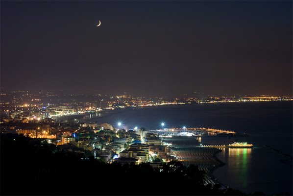 notturna in riviera  di RobertoPieriphotographer