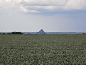 Photo: Le mont saint Michel