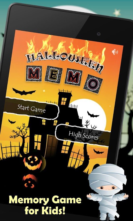 Halloween Memo- screenshot