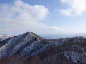 特徴的な徳平山