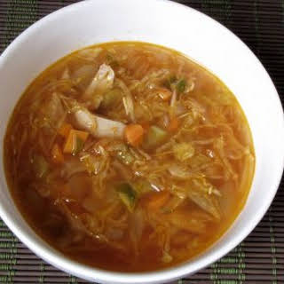 Chicken and Cabbage Soup.
