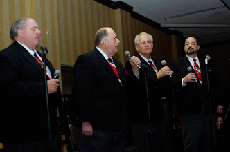 Photo: Members of the Augsburg Centennial Singers entertain the crowd of 900 during the 23rd Annual Nordic Thanksgiving Breakfast.  Friends, family, distinguished guests and visitors participated in the 23rd Annual Nordic American Thanksgiving Breakfast at the Bloomington Sherton Hotel on Nov. 20th, 2007.  Sons of Norway founded this event to have Nordic communities celebrate common values and enjoy their shared heritage.