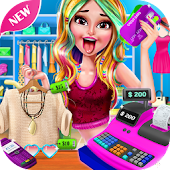 Tải Game Shopping Mall Girl Cashier Game 2
