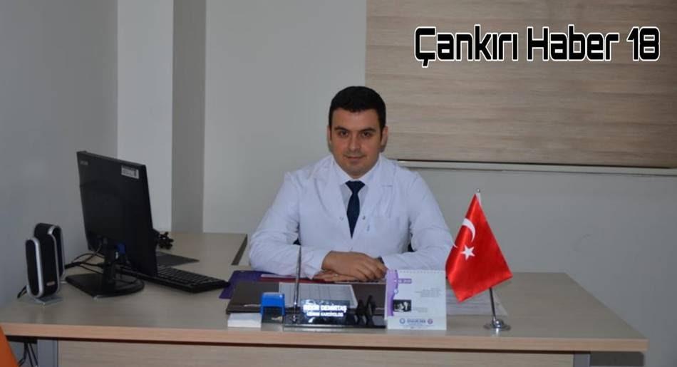 Çankırı Devlet Hastanesi Başhekim yardımcısı Kardiyoloji uzmanı Bekir DEMİRTAŞ