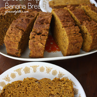 Spiced Pumpkin Banana Bread