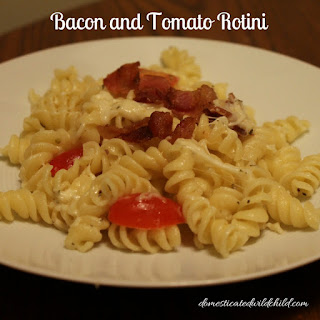Bacon and Tomato Rotini.