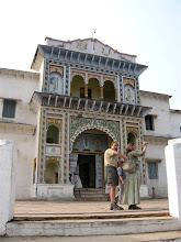 Photo: hinduistický chrám v Čitrakutu