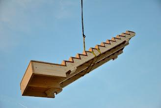 """Photo: 07-11-2012 ©ervanofoto """"Stairway to Heaven"""" niet van Led Zeppelin, maar wel van Berchthold Holzbau."""