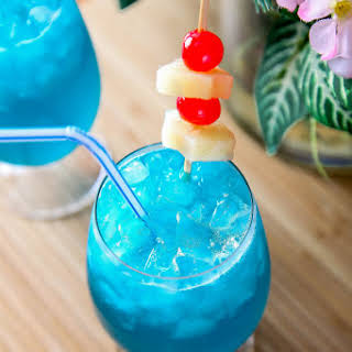 Rum Blue Curacao Pineapple Juice Recipes.