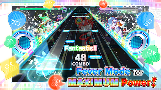 Sonic Beat feat. Crash Fever Screenshot
