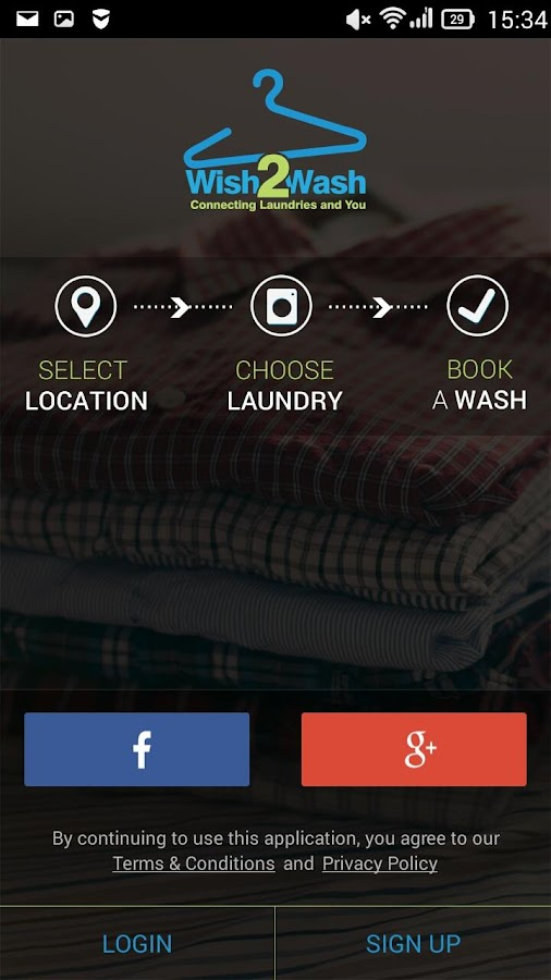 Wish2Wash- screenshot