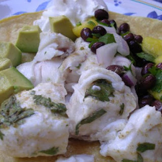 Low Fat Fish Tacos.