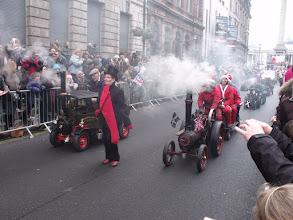Photo: Miniature steam engines.