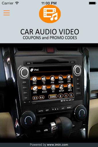 Car Audio Video Coupons-Im In