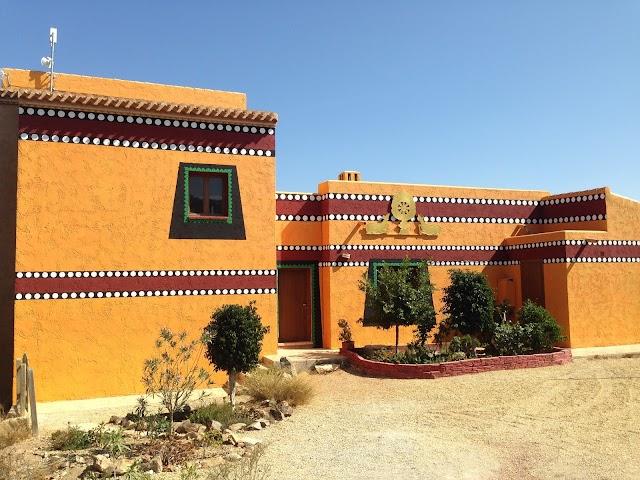 Centro actual de la comunidad en Bédar.