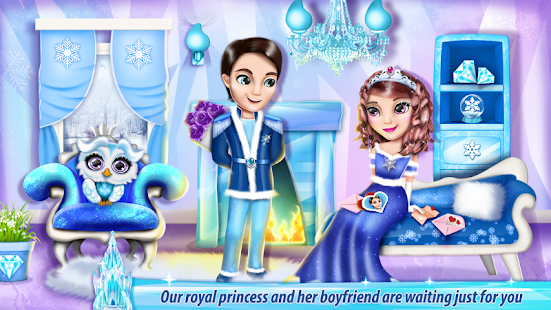 Ice Princess Castle Decoration - náhled