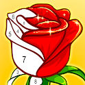 ColorPlanet® Paint by Number, Free Puzzle Games icon