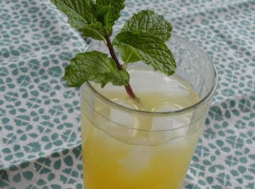 "Peppermint Chiller ""This refreshing cocktail is a great way to cool down..."
