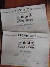 Photo: první a třetí místo v belgickým O-poháru 2013