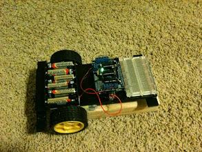 Photo: robot car