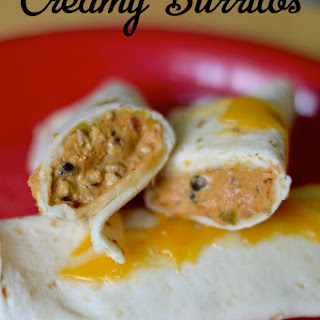 Creamy Burritos - A Great Freezer Meal!