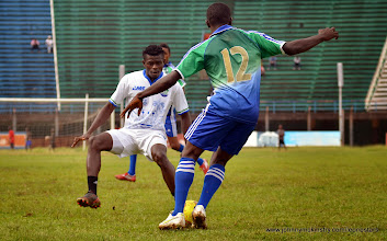 Photo: Mohamed Kamanor [Training game against u-20 National team, ahead of Leone Stars v Seychelles Game in Freetown on 19 July 2014 (Pic: Darren McKinstry)]