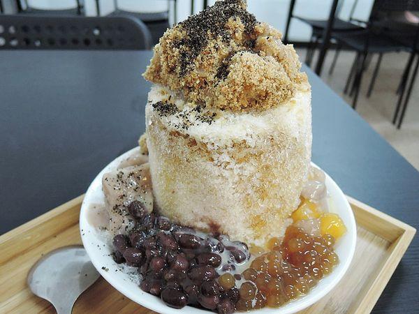 圓知圓味手作甜品&冰品,麻糬燒冷冰,清涼入口!