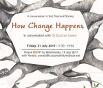 Soil, Soul and Society: How Change happens : Sustainability Institute