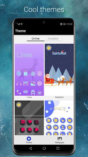Cool EM Launcher - EMUI launcher style for Mate 20 screenshot 2