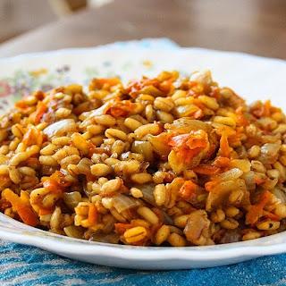 Farro & Carrot Risotto Recipe