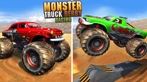 Télécharger Gratuit Fearless Monster Truck Derby Crash Demolition Game apk mod screenshots 4